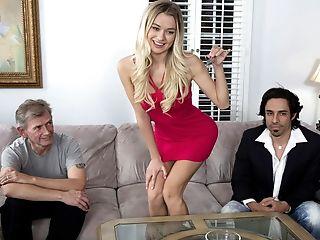 Blonde Swingers Threesome