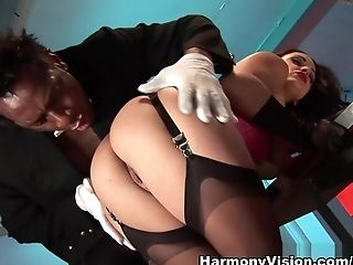 Amazing pornstars Angell Summers, Liza Del Sierra in Crazy Stockings, Pornstars porn scene