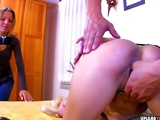 Sexy MILF seduces a stud for his pole