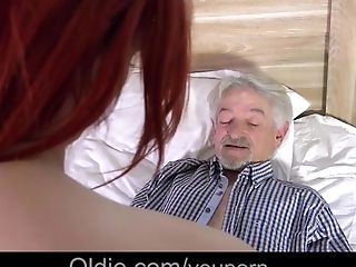 Cunnilingus, Cute, Dirty, Ginger, Grandpa, Old, Old And Young, Teen,