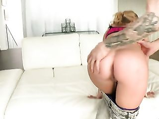 Blonde has butt sex on camera for your viewing pleasure