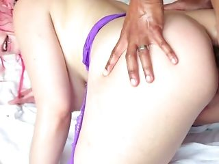 Dude with a huge dick fucks Proxy Paige in her crazy stretched anus