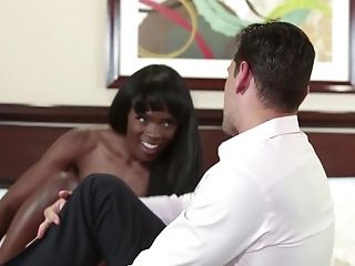 Cute Ana Foxxx seduced for an amazing interracial fuck