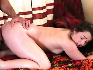 Graceful babe Lola Foxx is fucked in her sweet looking plump pussy