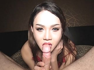 Slutty Thai Ladyboy Boss