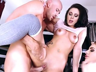 Extreme cock sharing with Kimmy Granger and Mia Pearl
