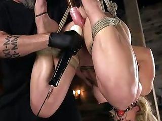BDSM, Bondage, Hogtied, MILF, Nipples, Sex Toys, Submissive, Torture, Vibrator,