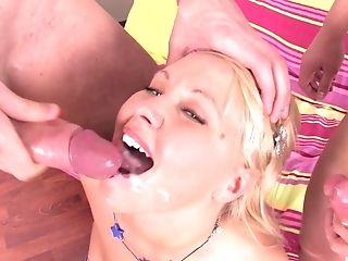 Amelie Pure wants to be penetrated by a couple of fellows
