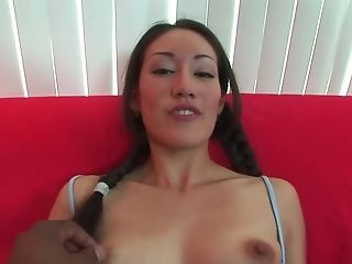 Fabulous pornstar Cris Taliana in crazy interracial, pov adult movie