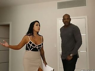 Sexually charged milf Simone Garza is fucked by hot blooded BBC