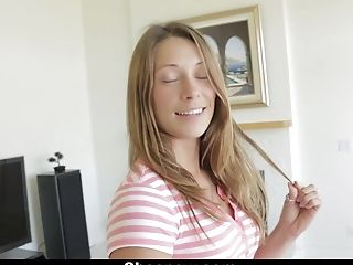 ShesNew - Kirsten Lee Sucks Cock During Casting
