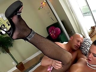 ShemaleIdol Guy Rimming and Blowing Big-Cock