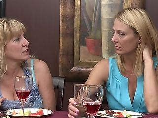 Matures Brenda James and Lily Cade having lesbian experience