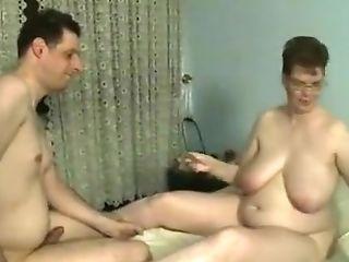 BBW, Big Tits, Brunette, Granny, Homemade,