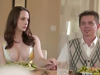 Ariana Marie and Chanel Preston adore cunt eating until both cum