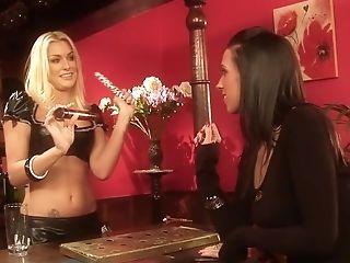 Horny pornstars Cate Harrington and Natasha Marley in fabulous masturbation, blowjob porn movie