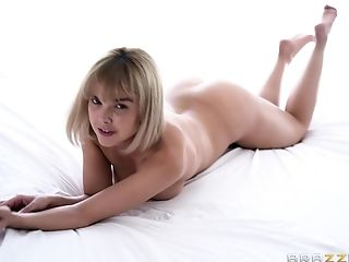 Dillion Harper making her boyfriend very happy whenever she spreads legs